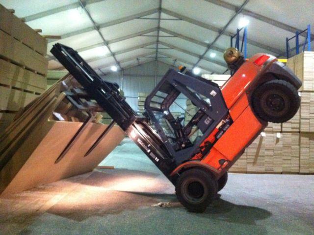 Overloaded-Forklift