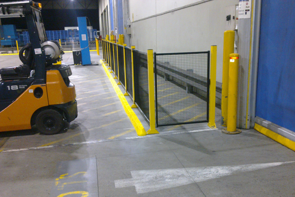 forklift barrier