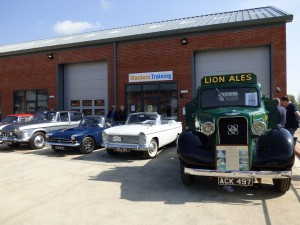 Stackers Training - Rootes Archive Centre Opening